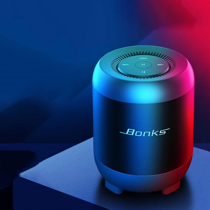小度智能AI无线蓝牙音箱手机迷你小音响家用低音炮户外插卡大音量