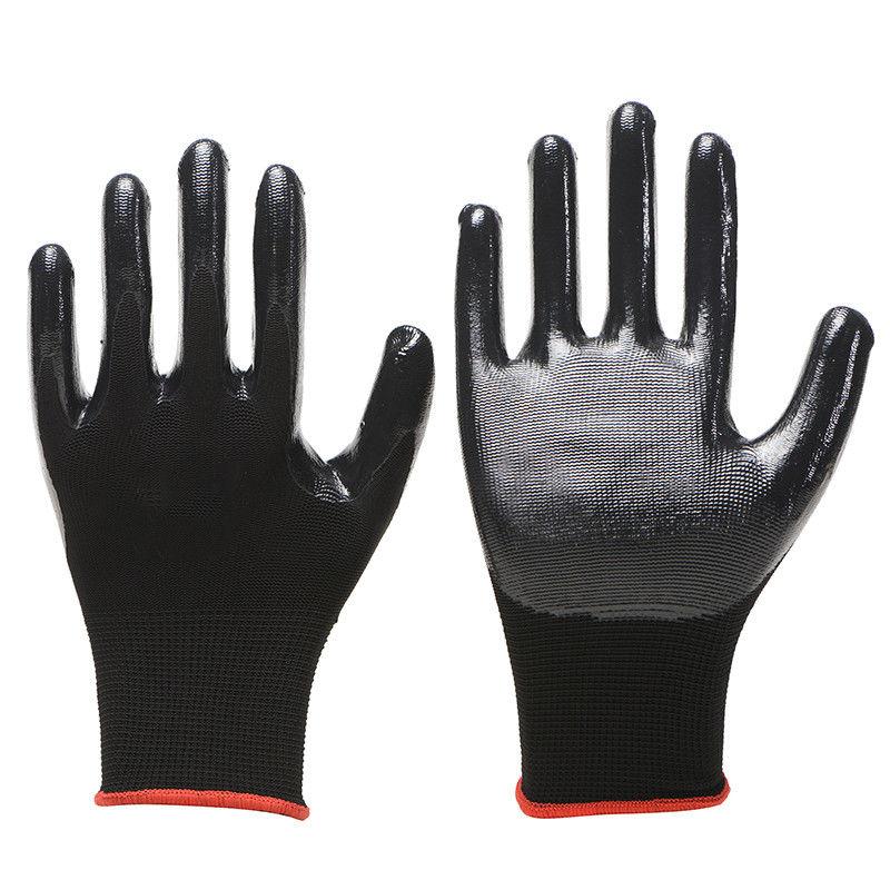【正品6-24双装】劳保手套橡胶乳胶浸胶耐磨胶皮工作干活