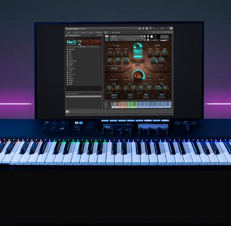 高质量模拟乐器音效鼓 风琴 钢琴NEO Soundstation kontakt音色库