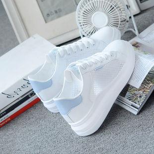 夏季新款鞋子女学生韩版百搭薄网透气运动鞋