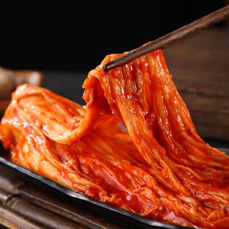 正宗韩国辣白菜泡菜朝鲜族泡菜袋装方便速食