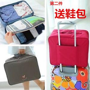 Hàn quốc phiên bản của túi xách du lịch lưu trữ túi quần áo hoàn thiện túi xe đẩy hàng hộp túi du lịch túi lưu trữ du lịch nam giới và phụ nữ