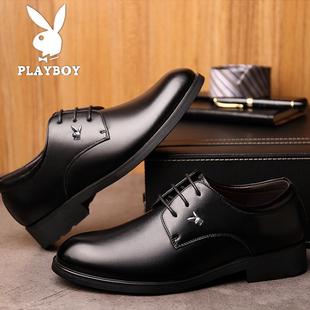 商务正装套脚皮鞋春季休闲时尚鞋