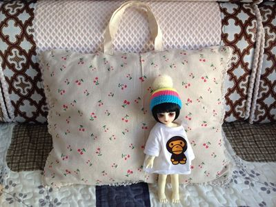 taobao agent 【2 free shipping】Disney salon doll out bag 1/4 1/6 points bjd doll cotton bag yosd