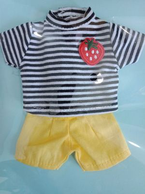 taobao agent Two sets of free shipping】bjd doll clothes men's yosd1/6 4 points giant baby salon cloth T-shirt kindergarten