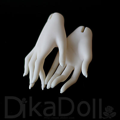 taobao agent Dikadoll DK65cm big female orchid finger hand type BJD doll resin accessories official original authentic