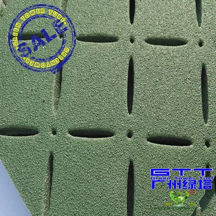 供应足球场人造草坪弹性基础,人造草坪合成材料减震垫
