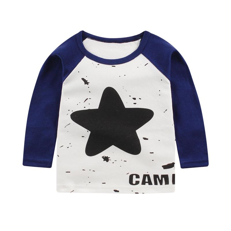 新生婴幼儿童宝宝纯棉长袖打底衫t恤卡通秋冬款款婴幼儿上衣