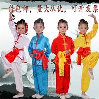 Детские Костюм боевых искусств длинный рукав короткий рукав мужские и женские Детская одежда Kung Fu
