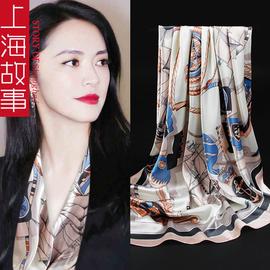 上海故事丝巾女薄款礼盒装