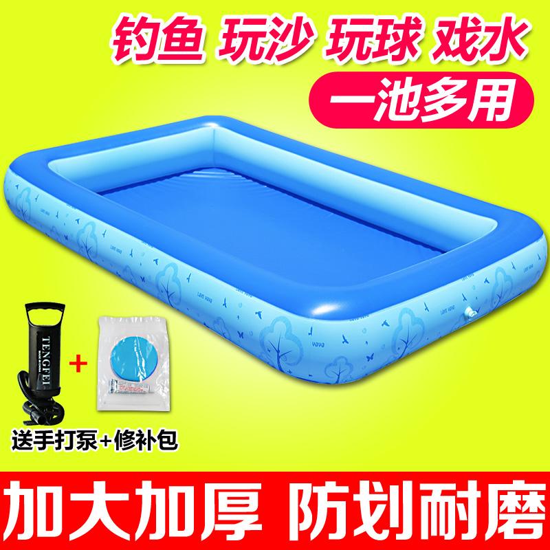 Dày trẻ em của hồ bơi câu cá hồ bơi bãi biển đồ chơi hồ bơi cassia hồ bơi dày hồ bơi cát bơm hơi bơi chơi polo nước hồ bơi