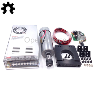 400W Spindle + PWM Speed Controller + MEAN WELL Power Supply