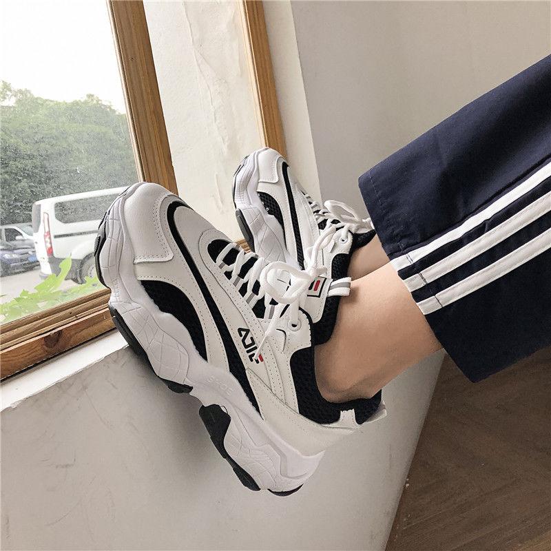 2020新款秋冬季鞋子男港风增高老爹鞋学生韩版潮流百搭休闲运动鞋