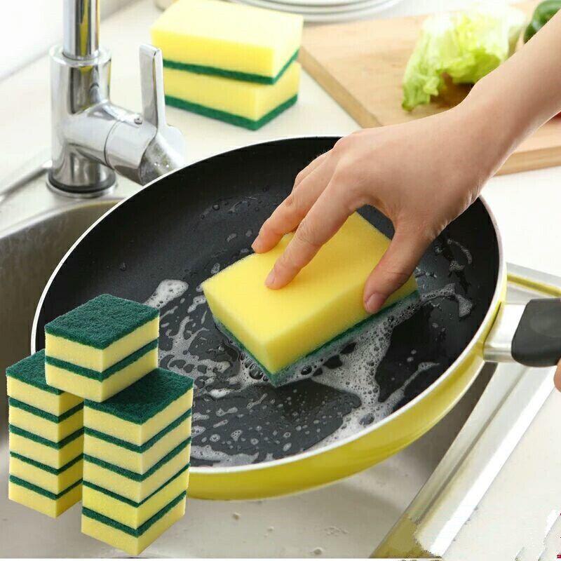 【超值20片装】洗碗海绵擦百洁布清洁刷锅刷碗布洗碗布抹布神器