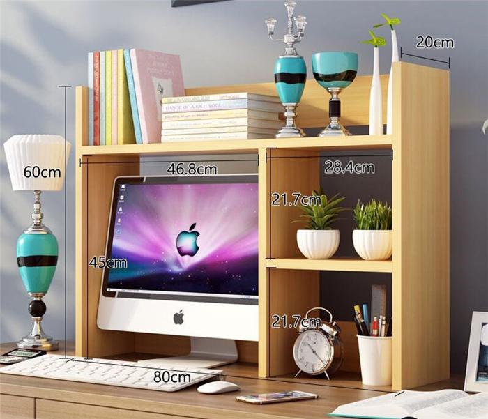 Hiển thị giá hoàn thiện giá ngoài trời hộp gỗ cộng với cao trong nhà văn phòng học tập kệ kích thước tăng hiển thị