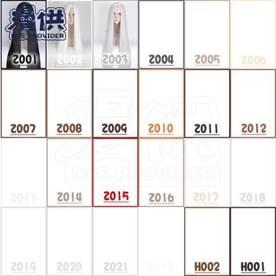 taobao agent Universal Hanfu Costume Mid-length Straight Hair Cos Wig 100cm Black and White Gray Dark Linen Brown Coffee Brown