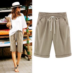 Брюки 2019 шахин пять минут штаны твердый карман случайный брюки тонкая модель S-6XL женщина Summer Shorts