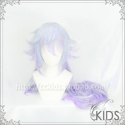 taobao agent CCKIDS [fate FGO] Meilin Super Beauty Highlighting Gradient COSPLAY Wig Split Thickening