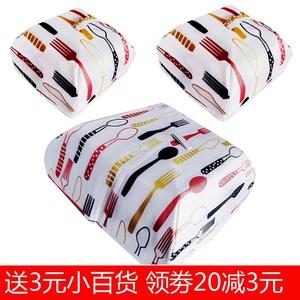 4 kích thước nhỏ cách nhiệt bìa đĩa cách nhiệt có thể gập lại cách ăn bìa nhôm lá cách nhiệt bìa cách nhiệt để gửi 3 nhân dân - Sản phẩm chống bụi