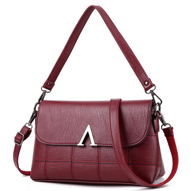 女包单肩包女式斜挎包挂包中年妈妈包
