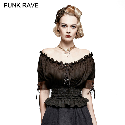 taobao agent * Gothic Lolita women's clothing with Lolita palace style princess summer French girl shirt medieval retro