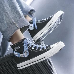Холст обувь мужчина высокий 2021 метров дикий корейский лето небольшой Толпа людей обувь мужчина обувь ins порт дефлектор обувной