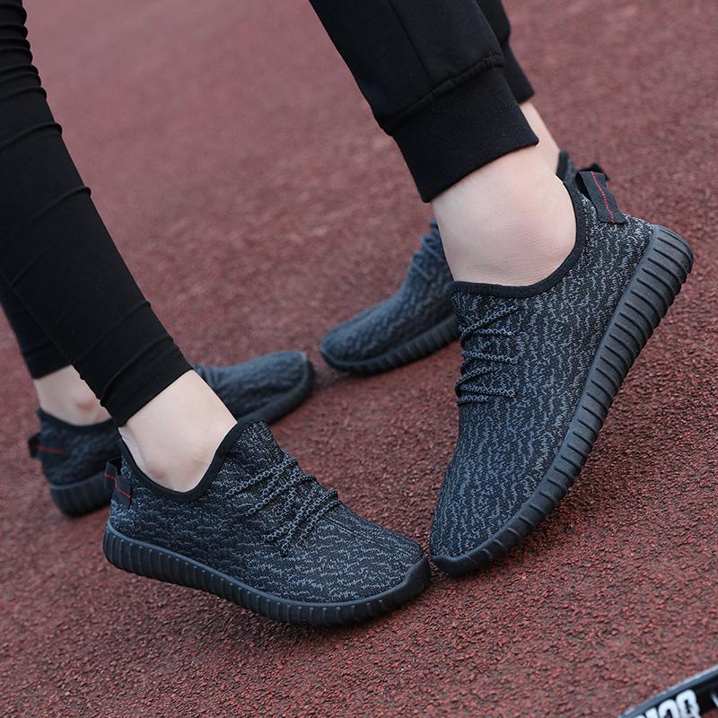 Cũ Bắc Kinh gót chân phẳng giày nam giới và phụ nữ mùa xuân giày dừa không trượt giày làm việc nông miệng thấp để giúp giày đơn thể thao tie những người yêu thích
