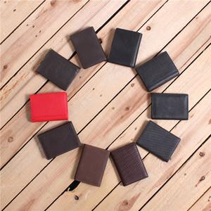 Da lớp trên da bò giá cả phải chăng thực tế dễ dàng để sử dụng một lần đa thẻ ngân hàng di động giao thông gói thẻ nhỏ I4-B202