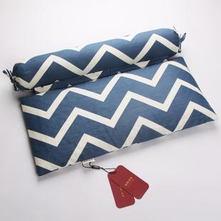 护颈枕头圆形荞麦皮颈椎枕专用