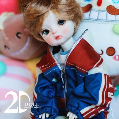 taobao agent BJD/SD doll, 6-point plastic version, 2ddoll 2D small blueberry, whole baby, close warehouse, sold out display
