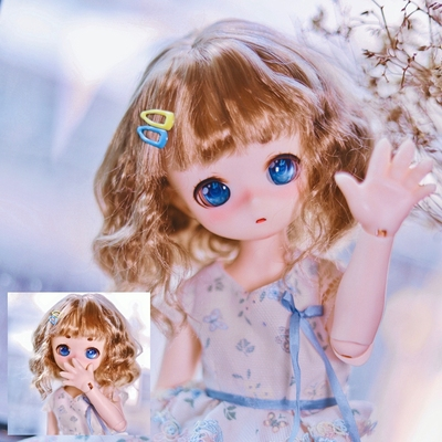 taobao agent Sold out and no replenishment BJD.DD doll daily Mori female curly hair imitation mohair wig 3 points MDD.熊妹