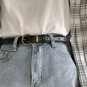 復古皮帶百搭韓版男女個性腰帶