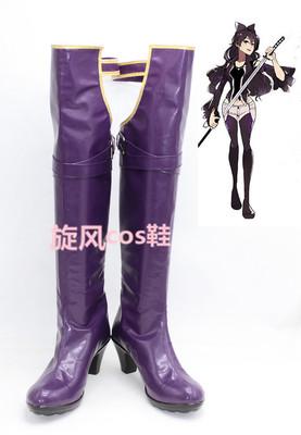 taobao agent No. B8710 RWBY-Breck Belladonna cos shoes to map custom cosplay shoes