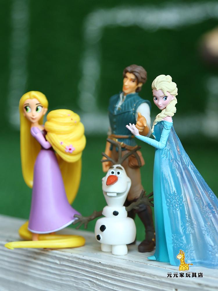 Xuất khẩu sang Đức Rapunzel Snow Po Aisha Winnie the Pooh Mickey Mouse Doll Trang trí Chơi đồ chơi nhà - Búp bê / Phụ kiện