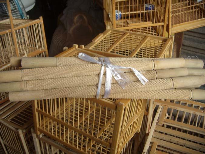 Công Cụ chim Chim & Nguồn Cung Cấp Thức Ăn Vật Nuôi & Nguồn Cung Cấp Lồng Chim Tre Lồng Nhảy Rod Lồng Chim Phụ Kiện Birdcage Nhảy Rod
