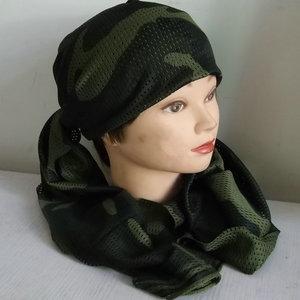Tôi là một lực lượng đặc biệt ngụy trang khăn quân đội fan chiến thuật khăn trùm đầu ngoài trời rừng thoáng khí cs ngụy trang mùa xuân và mùa hè mồ hôi net khăn