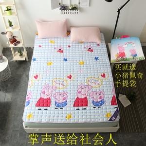 Rửa giường cotton pad mùa hè mát phần mỏng 1.8 m sàn ngủ ngủ mat là tatami non-slip piglet pecs nệm