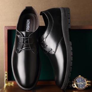 夏季新款男士商务正装潮流皮鞋