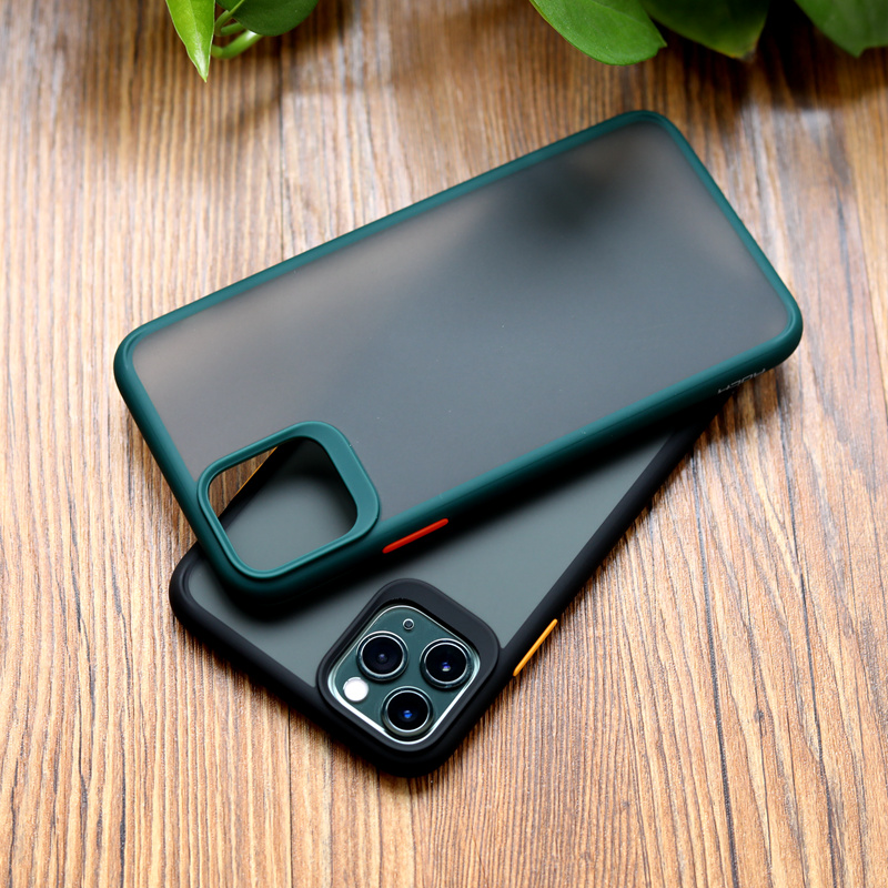 Shockproof Bumper Silicone Cover Case For iPhone11 Pro Max