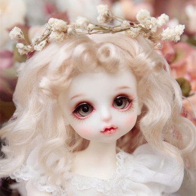 taobao agent 【GEM Wig】1/8bjd doll, little Mona wig, golden curls, GemOfDoll 8 points