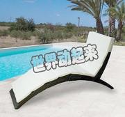 Ở nước ngoài mua cắm trại ghế giải trí thoải mái ngoài trời ngồi có thể ngả lười biếng hồ bơi boong ngồi có thể ngả gấp đồ nội thất