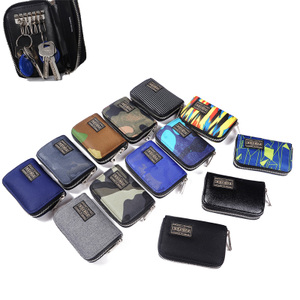 Mới yoshida porter nam giới và phụ nữ ly hợp túi chìa khóa túi thẻ túi ví nhỏ không thấm nước túi nhỏ ly hợp túi chìa khóa túi