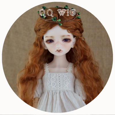 42agent [QQ Wig] BJD/SD doll Mori girl in the bubble noodle roll imitation mohair wig * Alice * - Taobao