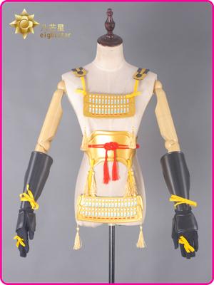 taobao agent Spot goods【Eight-pointed star】Touken Ranbu Mikazuki Zongjin Grandpa Breastplate Breastplate Cosplay props