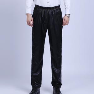 Mùa xuân và mùa hè trung niên windproof dầu kháng bẩn quần của nam giới thường cao eo thẳng đàn hồi eo làm việc bảo vệ quần da
