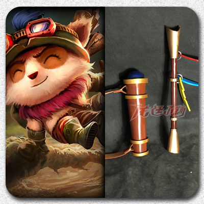 taobao agent 【Long Ting】League of Legends cosplay props/Swift Scout Timo props weapons