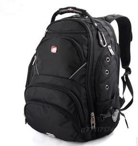 正品瑞士军刀包15.6寸电脑包双肩包背包书包大容量旅行包包SA9735