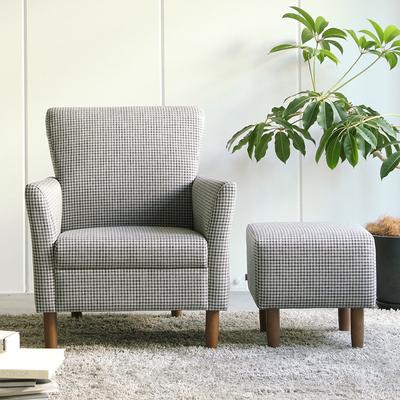 日式北欧小清新椅小户型实用布艺沙发单双人位