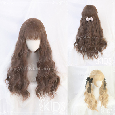 taobao agent 【CCKIDS-FIORE】+ Rosalind + Water Vein Roll LOLITA Universal Style Two-tone Entry