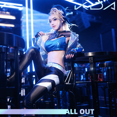 taobao agent Naduo LOL League of Legends Akali cos playing song clothing KDA girl group Yujie cosplay game anime costume